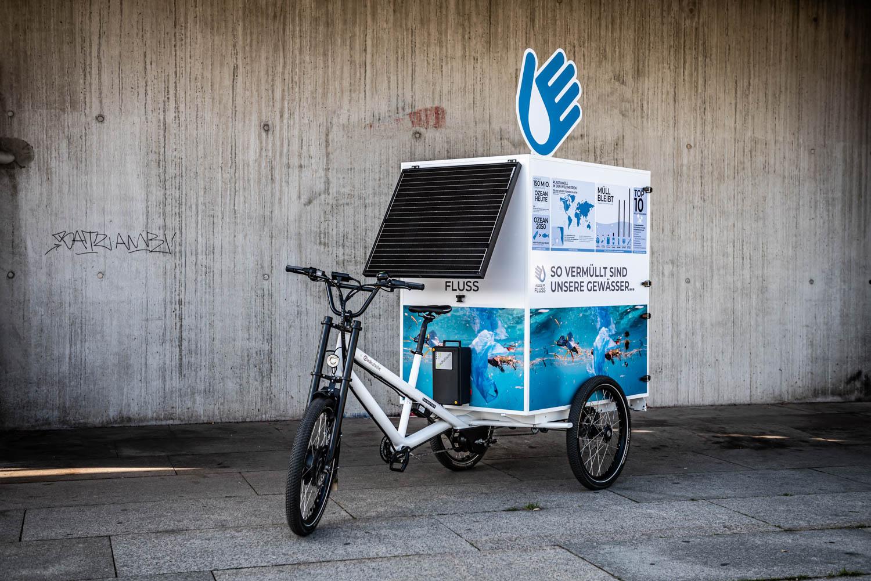 AIF-Infomobil unterwegs in Berlin
