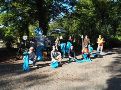 Cleanup Berlin im Treptower Park