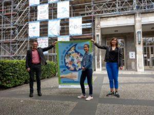 Rathaus Tiergarten Biergarten Ausstellung