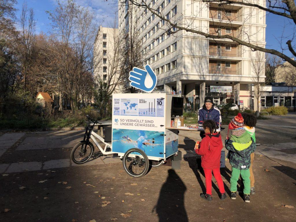 Infomobil Sparrplatz ALLES IN FLUSS