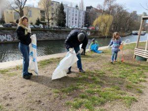 Cleanup Urbanhafen Frühlingsanfang 2021
