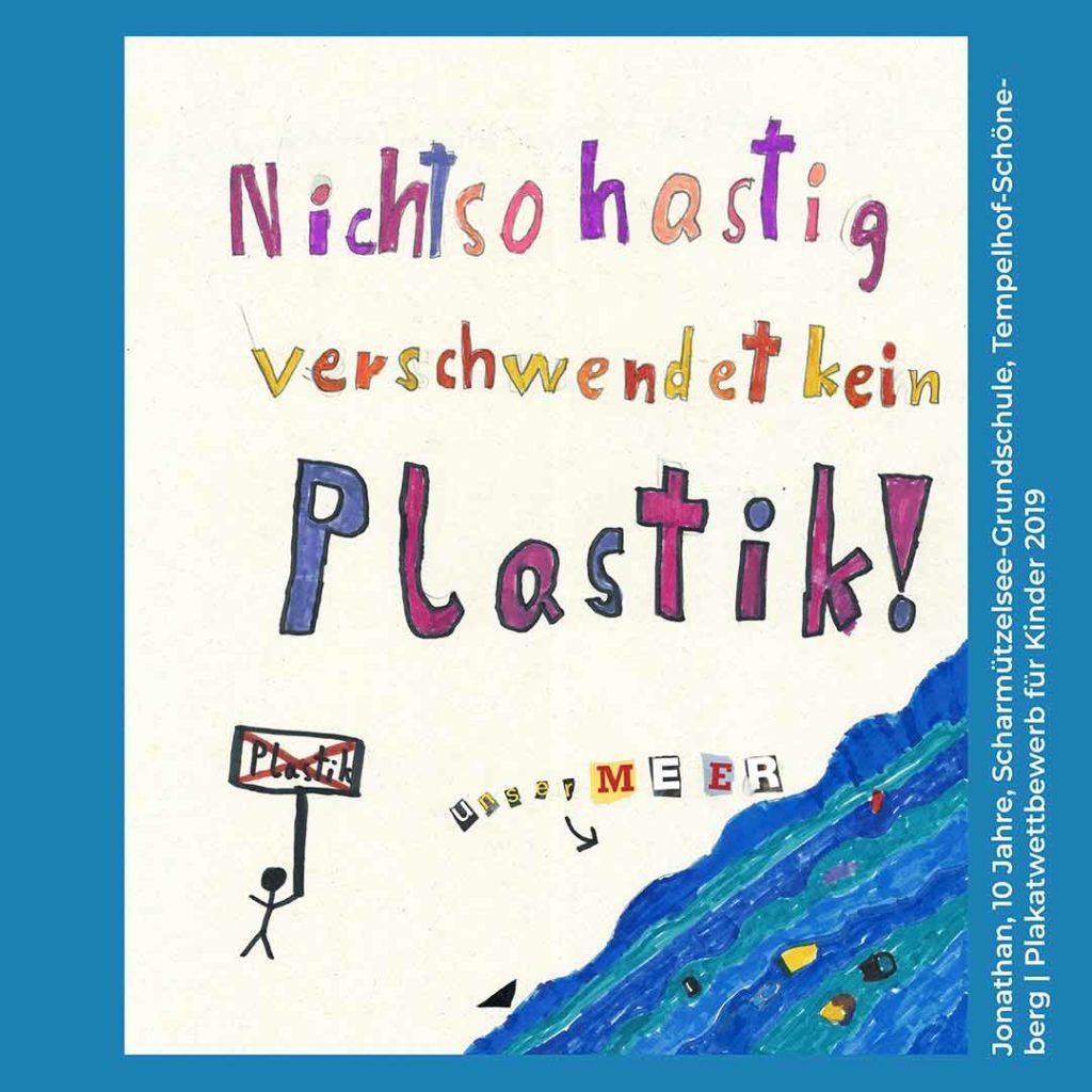 Alles im Fluss Plastik Challenge