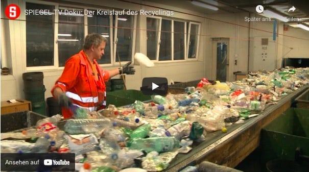 Spiegel Dokumentation zum Thema Recycling