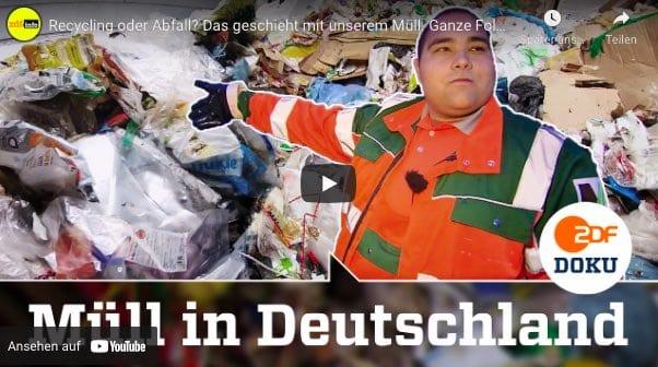 ZDF Dokumentation zum Thema Recycling