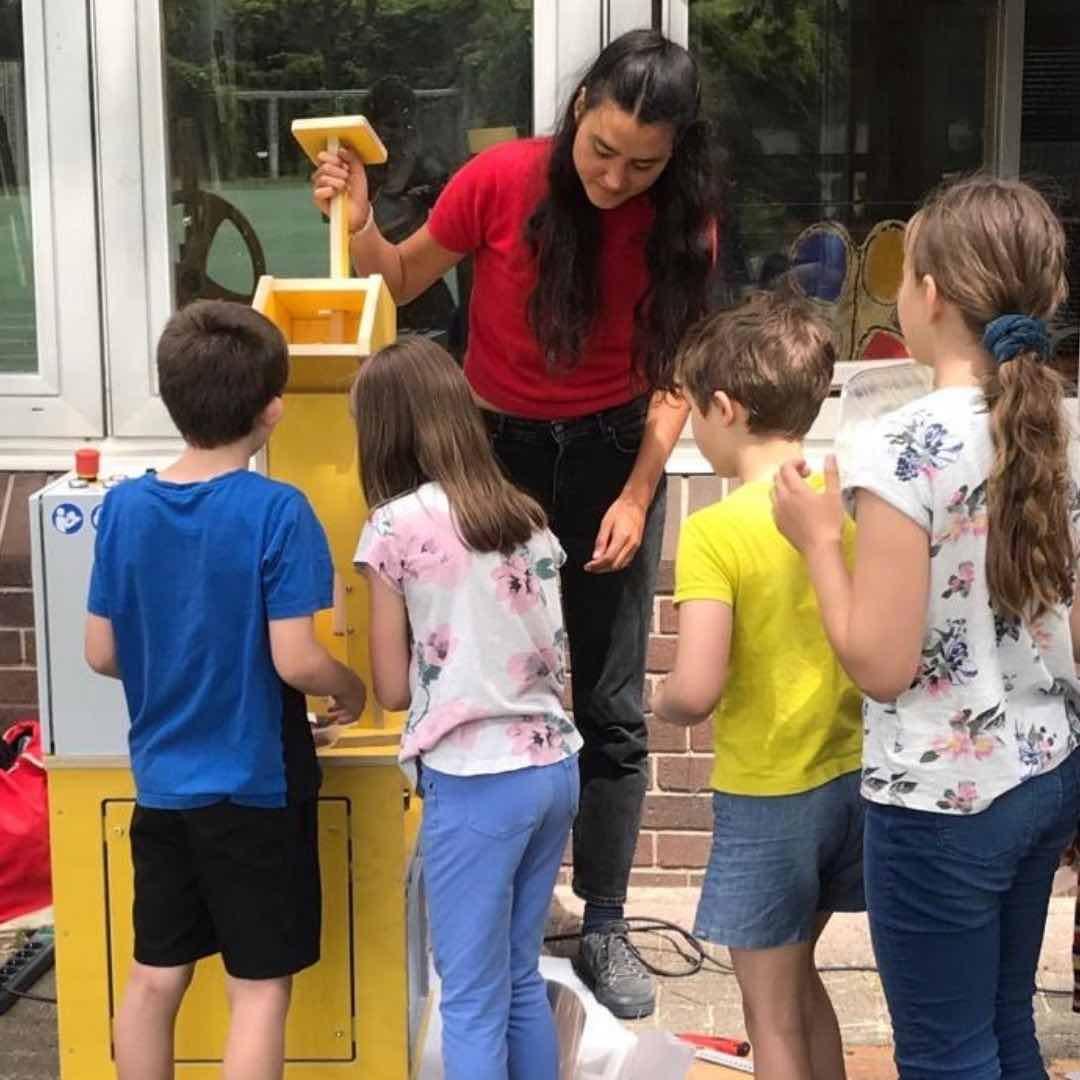 Recycling-Workshop mit Kindern