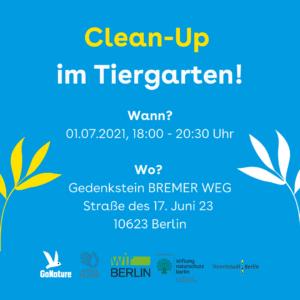Cleanup Tiergarten