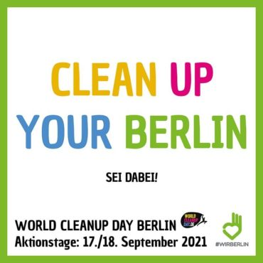 World Clean Up Day Berlin 2021