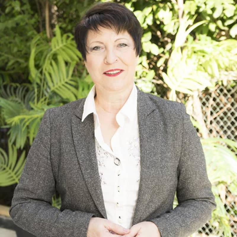 Porträt von Gabrielle Thöne für Netzwerktpartner*innen von ALLES IM FLUSS